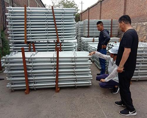 中国青建集团来我厂考察